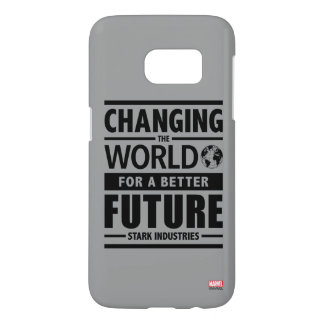 Stark Industries Changing The World Samsung Galaxy S7 Case