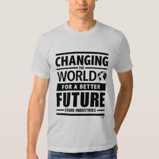 Stark Industries Changing The World Shirt