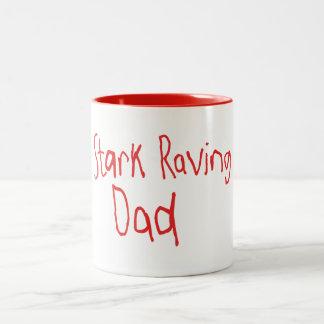 STARK RAVING DAD MUG