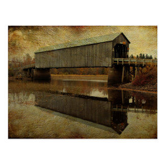 Starkey Covered Bridge Postcard