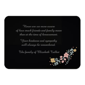 Starless Bereavement Cards (3.5 x 5)