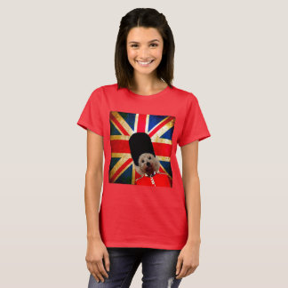 STARLETT THE WESTIE UNION JACK T SHIRT  (RED)