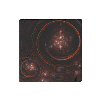 Starlight Abstract Art Stone Magnets