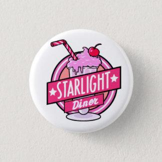 Starlight Diner Milkshake Pinbadge 1 Inch Round Button
