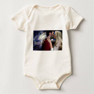 Starlight In Her Kiss Baby Bodysuit