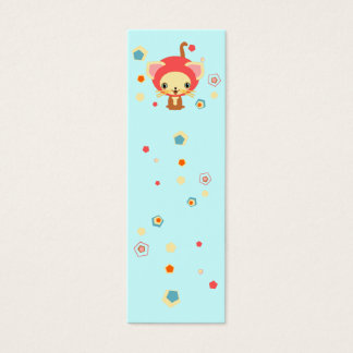 starlight kittten bookmark mini business card
