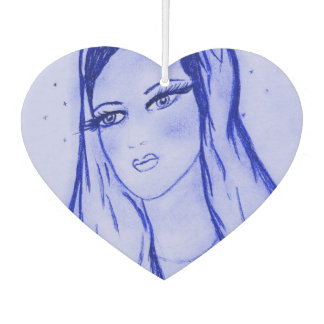 Starlight Mary - Blue - Car Air Freshener