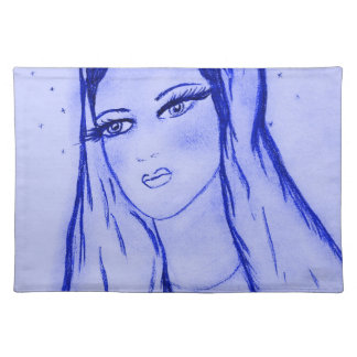 Starlight Mary - Blue - Placemat