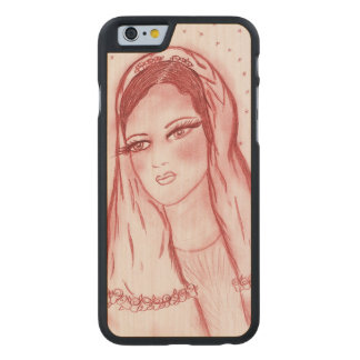 Starlight Mary in Red Carved Maple iPhone 6 Case