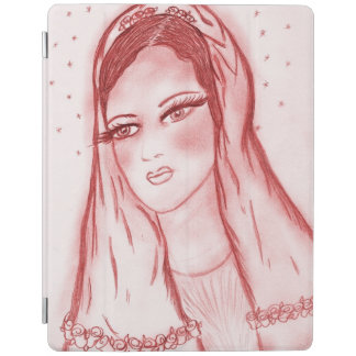 Starlight Mary in Red iPad Cover