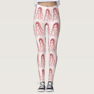 Starlight Mary - Red Leggings