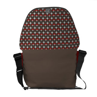 Starline Small Part (Cocoa) - Med Messenger Bag