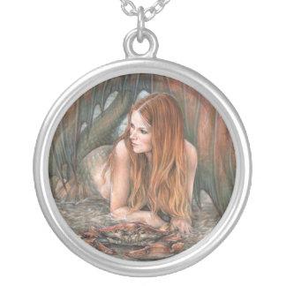 Starlit Tides - Cancer Necklace
