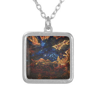 Starlite Silver Plated Necklace