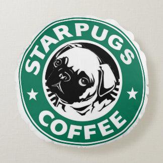 Starpugs Coffee Round Pillow