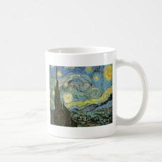 Starred night coffee mug