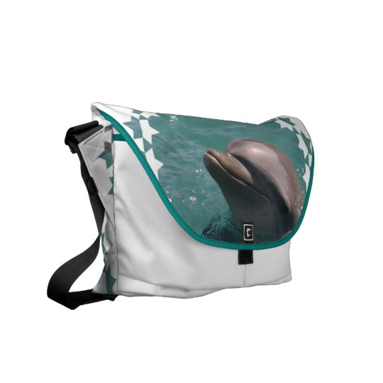 Starring a Dolphin Messenger Bag