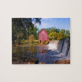 Starr's Mill 8x10 Jigsaw Puzzle