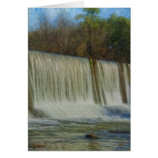 Starr's Mill Dam Card