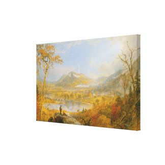 Starrucca viaduct, 1865 stretched canvas prints