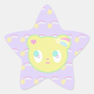 Starry Bear Sticker