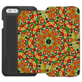 Starry Bold Kaleidoscope Incipio Watson™ iPhone 6 Wallet Case
