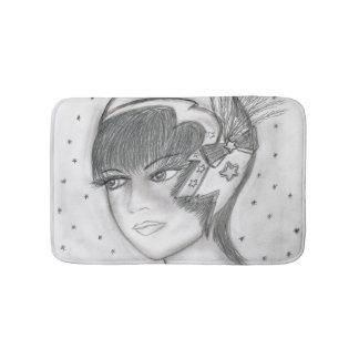 Starry Flapper Bath Mat
