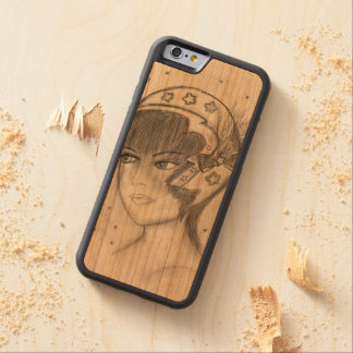 Starry Flapper Carved Cherry iPhone 6 Bumper Case