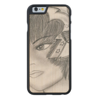 Starry Flapper Carved Maple iPhone 6 Case