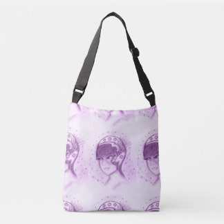 Starry Flapper - Purple Crossbody Bag
