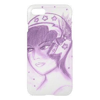 Starry Flapper - Purple iPhone 8/7 Case