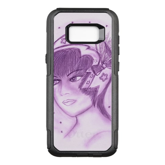 Starry Flapper - Purple OtterBox Commuter Samsung Galaxy S8+ Case