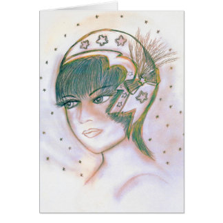 Starry Flapper Twisted Card