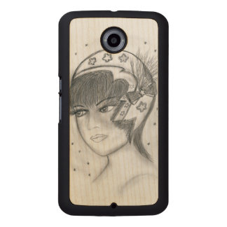 Starry Flapper Wood Phone Case