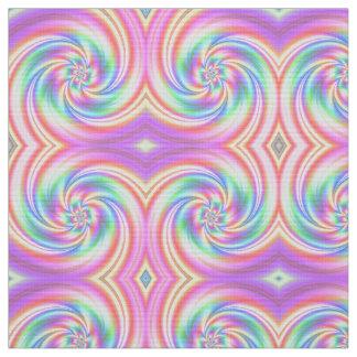 Starry Girl Pink Twirl Fabric small motif