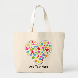 Starry Heart Tote Bag