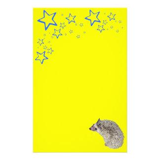 Starry Hedgehog Stationary Stationery