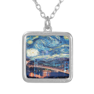 Starry Istanbul Silver Plated Necklace