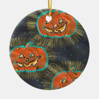 Starry Jacks Halloween Ornament