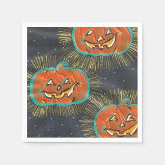 Starry Jacks Halloween Paper Napkins