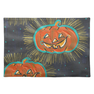 Starry Jacks Halloween Placemats