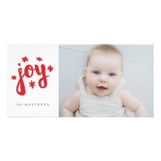 Starry Joy Photo Greeting Card