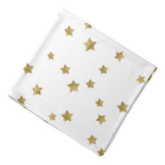 Starry Magic - White Bandana