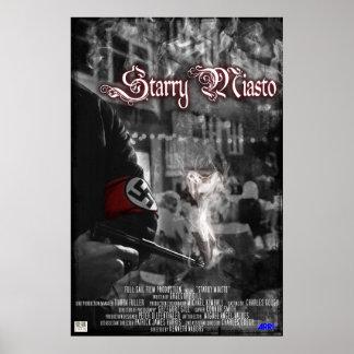 Starry Miasto Poster