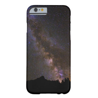 Starry Milky way, California Barely There iPhone 6 Case