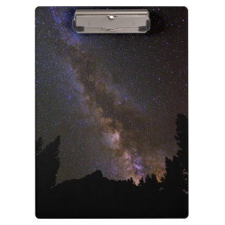 Starry Milky way, California Clipboard