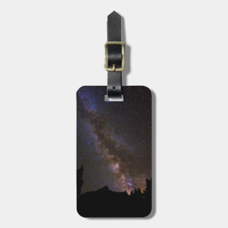 Starry Milky way, California Luggage Tag