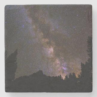 Starry Milky way, California Stone Coaster