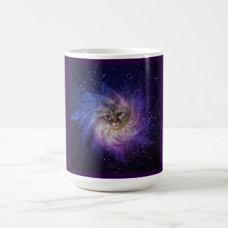 Starry Nebula 15 oz Kitty Mug