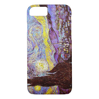 Starry Night 1889 iPhone 7 Case